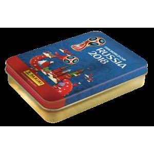 WC 2018 - RUSSIA - TIN BOX DE 60 STICKERS PANINI