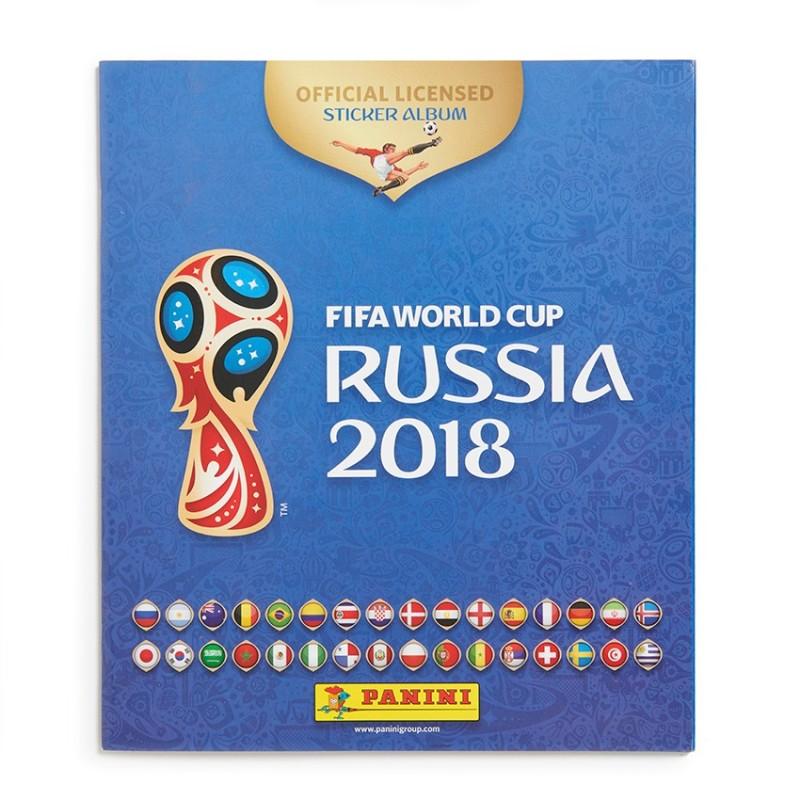 album world cup 2018 russia panini. Black Bedroom Furniture Sets. Home Design Ideas