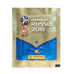 POCHETTE DE 5 STICKERS - WORLD CUP 2018 RUSSIA PANINI