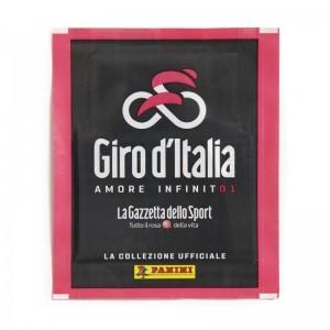 POCHETTE DE 5 STICKERS ET 1 CARTE - GIRO D'ITALIA PANINI