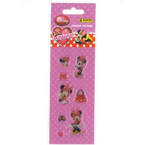 I LOVE MINNIE (CRYSTAL STICKERS MINI) - STICKER SHEET