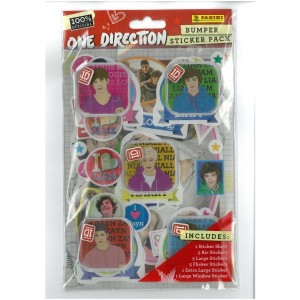 ONE DIRECTION (BUMPER STICKER PACK) - STICKER SHEET