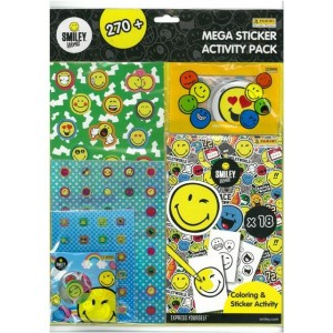 SMILEY (MEGA STICKERS ACTIVITY PACK) - STICKER SHEET