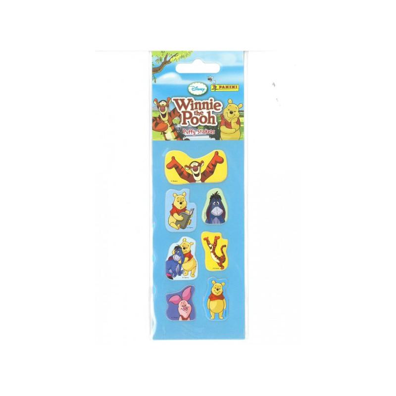 winnie l 39 ourson puffy stickers mini sticker sheet. Black Bedroom Furniture Sets. Home Design Ideas