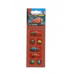CARS (2 IN 1 STICKERS MINI) - STICKER SHEET