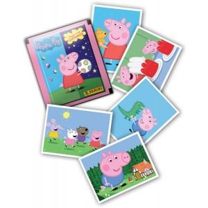 PEPPA PIG (JOUER AVEC LES CONTRAIRES) - BOITE DE 50 POCHETTES STICKERS