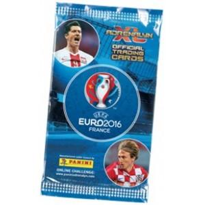 EURO 2016 FRANCE (ADRENALYN XL) - POCHETTE DE 6 TRADING CARDS
