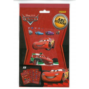 CARS (ABC STICKERS) - STICKER SHEET