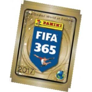 FIFA 365 2017 - POCHETTE DE 5 STICKERS
