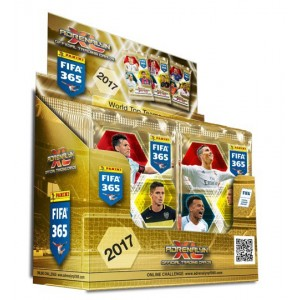 FIFA 365 2017 (ADRENALYN XL) - BOITE DE 50 POCHETTES TRADING CARDS