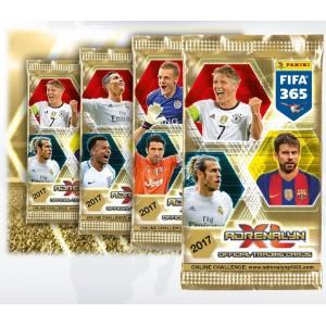 POCHETTE DE 6 TRADING CARDS - FIFA 365 2017 (ADRENALYN XL)