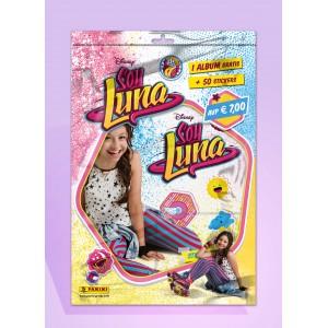 SOLY LUNA - STARTER PACK PANINI DE STICKERS FR