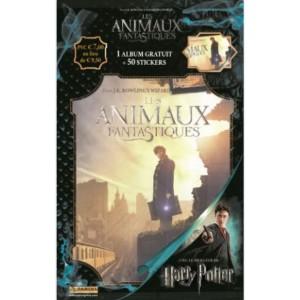ANIMAUX FANTASTIQUES - STARTER PACK DE STICKERS FR