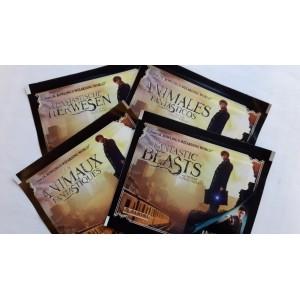 ANIMAUX FANTASTIQUES - pochettes de 5 stickers