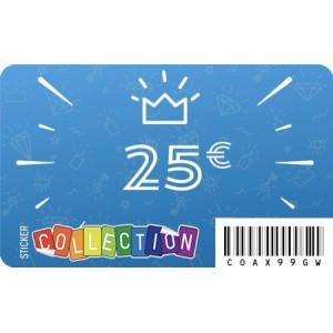 Gift card-25