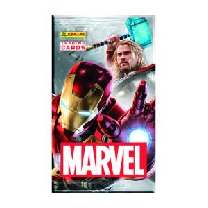 pochette de 6 Trading Cards - Marvel
