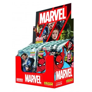 MARVEL - BOITE DE 24 POCHETTES TRADING CARDS
