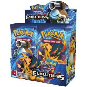 POKEMON EVOLUTIONS XY 12 - BOITE DE 36 BOOSTERS ENG