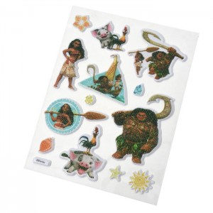 VAIANA (Puffy Stickers 3D)  - STICKER SHEET
