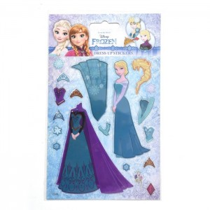 REINE DES NEIGES (DRESS UP Stickers) - STICKER SHEET