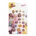 SOY LUNA (Diamond Stickers) - STICKER SHEET
