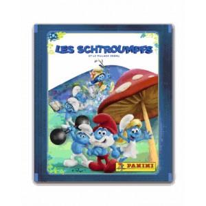 POCHETTE STICKERS - LES SCHTROUMPFS 3 (ET LE VILLAGE PERDU)