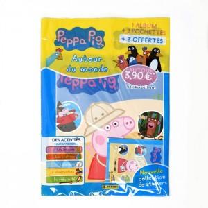 PEPPA PIG 4 (AUTOUR DU MONDE) - STARTER PACK DE STICKERS FR