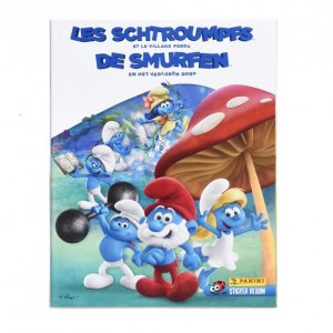 ALBUM LES SCHTROUMPFS ( ET LE VILLAGE PERDU) - PANINI