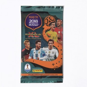 POCHETTE DE 6 TRADING CARDS - ROAD TO WORLD CUP 2018 RUSSIA