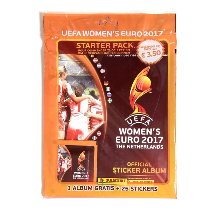 STARTER PACK - UEFA WOMEN'S EURO 2017 - PANINI