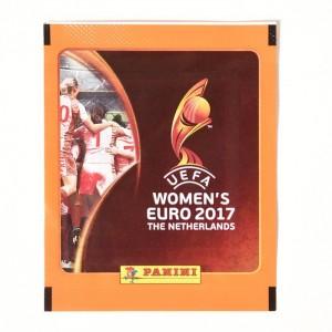 POCHETTE DE 5 STICKERS - UEFA WOMEN'S EURO 2017 - PANINI