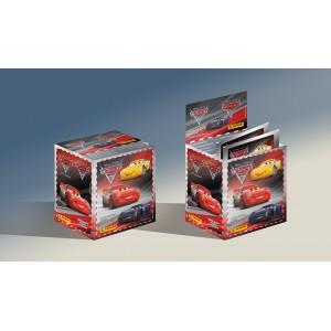 BOITE DE 50 POCHETTES STICKERS PANINI - CARS 3