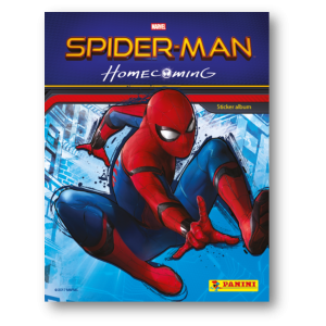 ALBUM NL - SPIDERMAN 6 Homecoming Movie PANINI