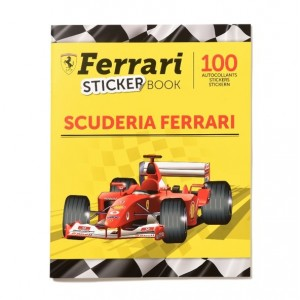 ALBUM - SCUDERIA FERRARI- STICKER BOOK PANINI