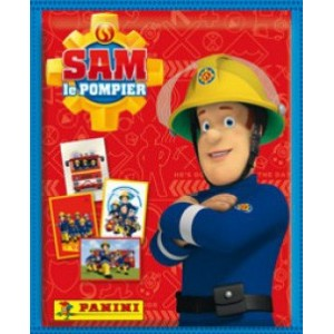 SAM LE POMPIER - pochettes de 5 stickers