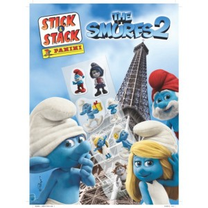 SCHTROUMPFS (MOVIE 2) - ALBUM STICK-STACK