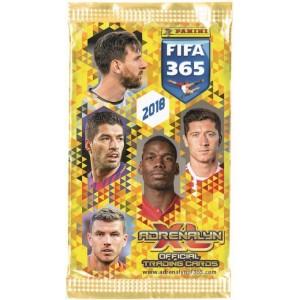 POCHETTE DE 6 TRADING CARDS - FIFA 365 2018 (ADRENALYN)