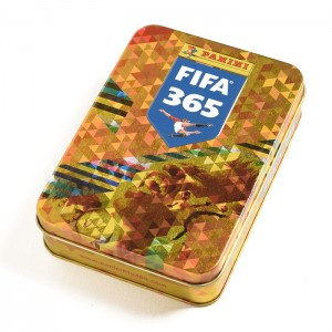 TIN BOX STICKERS (13 POCHETTES) - FIFA 365 2018 PANINI