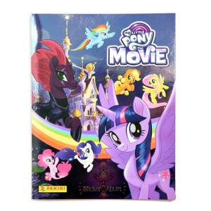 ALBUM NL MY LITTLE PONY MOVIE 3D - PANINI