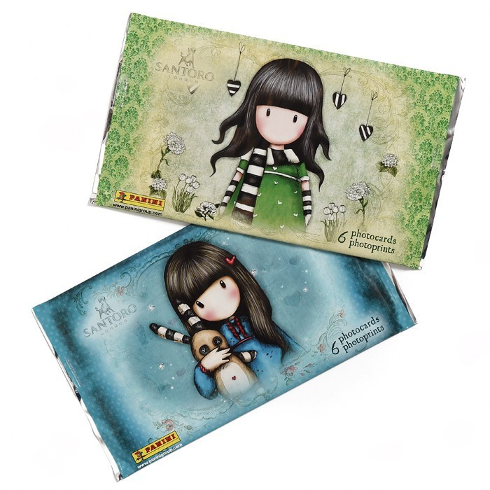 GORJUSS - POCHETTE DE PHOTOCARDS PANINI
