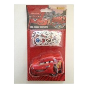 CARS 2 (100 SILVER STICKERS) - STICKER SHEET