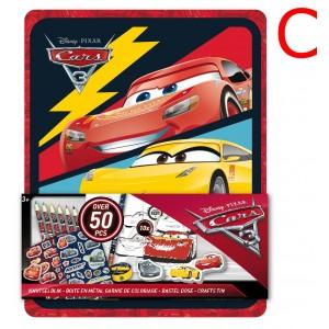 CARS 3 - CRAFTS TIN 3D