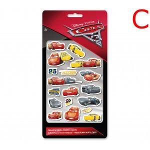 CARS (FOAM STICKERS) - STICKER SHEET
