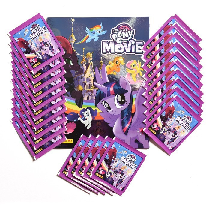 PACK SPECIAL FR - MY LITTLE PONY MOVIE PANINI