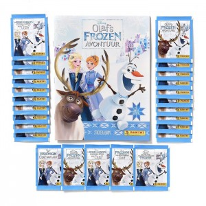 SPECIALE PACK NL - OLAF'S FROZEN AVONTUUR - PANINI