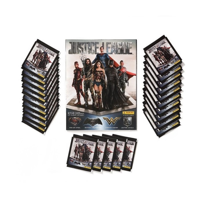 PACK SPECIAL FR - JUSTICE LEAGUE PANINI