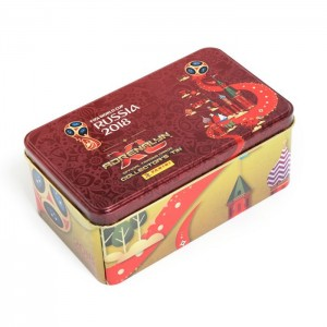 TIN BOX DE TCG ADRENALYN - WORLD CUP 2018 RUSSIA PANINI