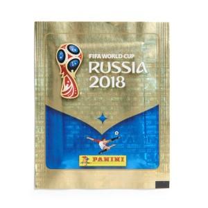 ZAKJE VAN 5 STICKERS - WORLD CUP 2018 RUSSIA PANINI