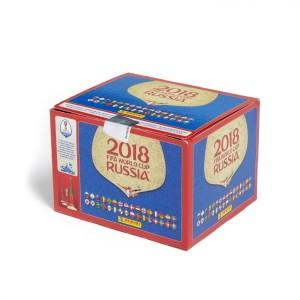DOOS VAN 100 ZAKJES - WORLD CUP 2018 RUSSIA PANINI