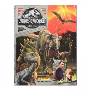 ALBUM NL - JURASSIC WORLD 2 FALLEN KINGDOM PANINI